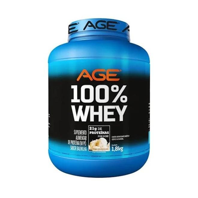 100% Whey 900g - AGE
