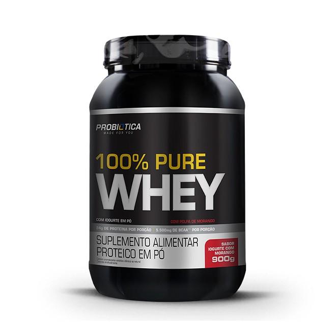100% Pure Whey Protein 900g - Probiótica