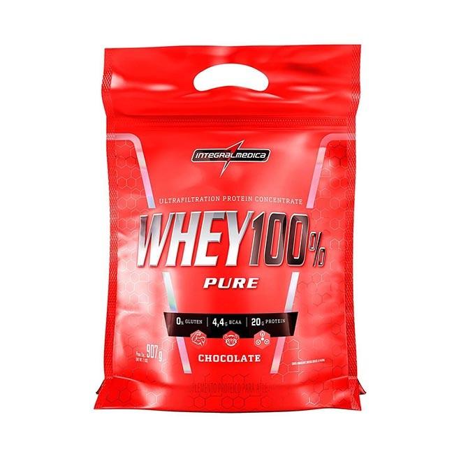 Super Whey 100% Pure 907g Refil - Integralmedica