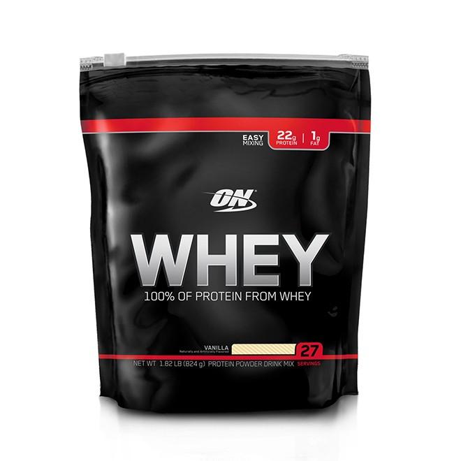 100% Whey Protein Refil 824g - Optimum Nutrition