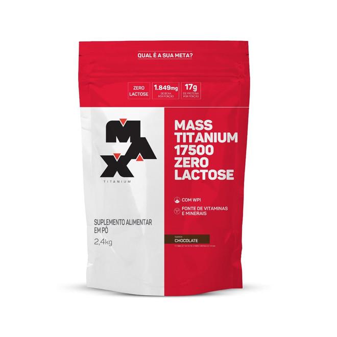 Mass Titanium 17500 ZERO LACTOSE 2,4kg - Max Titanium