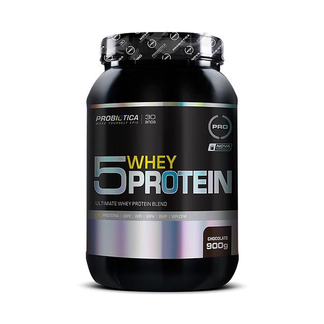 5 Whey Protein 900g - Probiotica