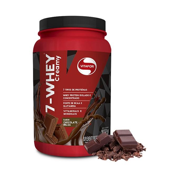 7 Whey Protein 900g - Vitafor