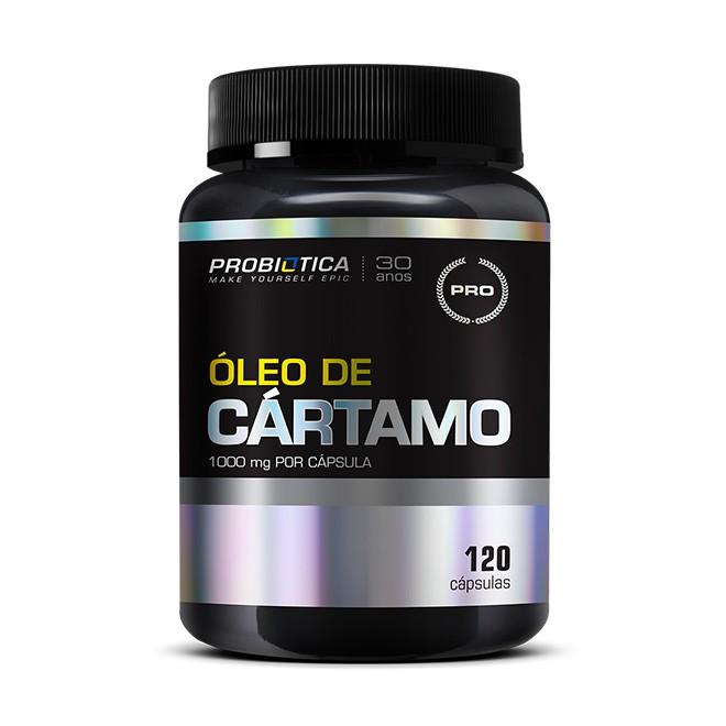 Óleo de Cártamo 120 Cápsulas 1000mg - Probiotica