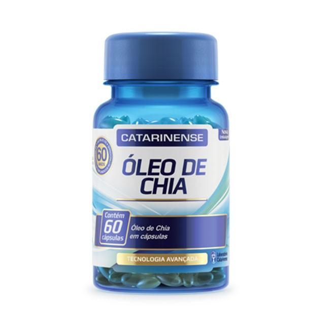 Óleo de Chia 60 cápsulas 500mg – Catarinense