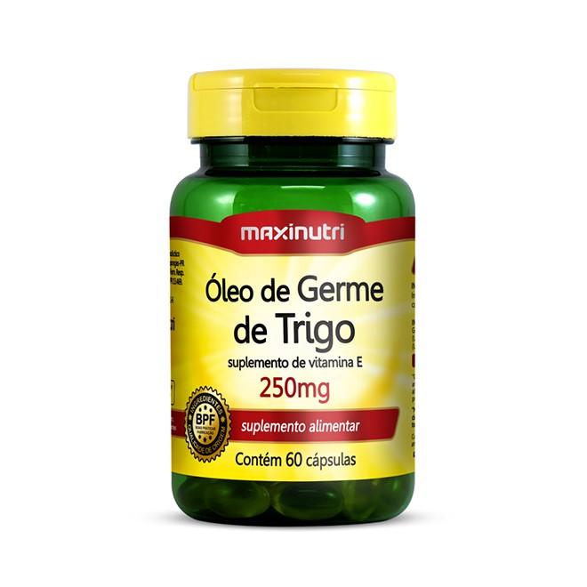 Óleo de Germe de Trigo 60 Cápsulas - Maxinutri