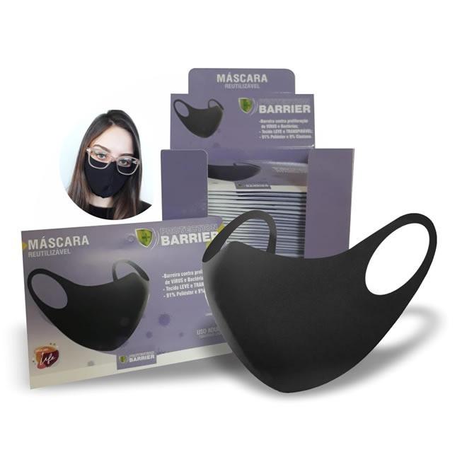 Máscara Reutilizável CX c/ 50 Unidades - GP