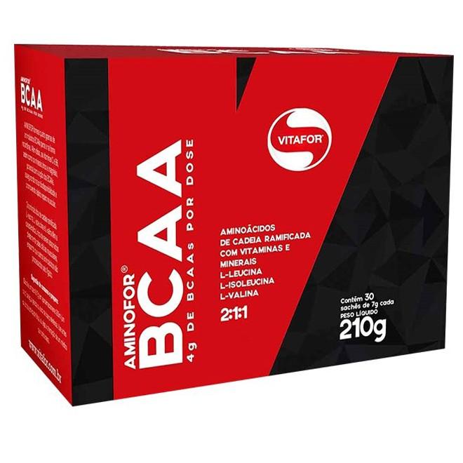 Aminofor BCAA 30 Sachês 210 - Vitafor