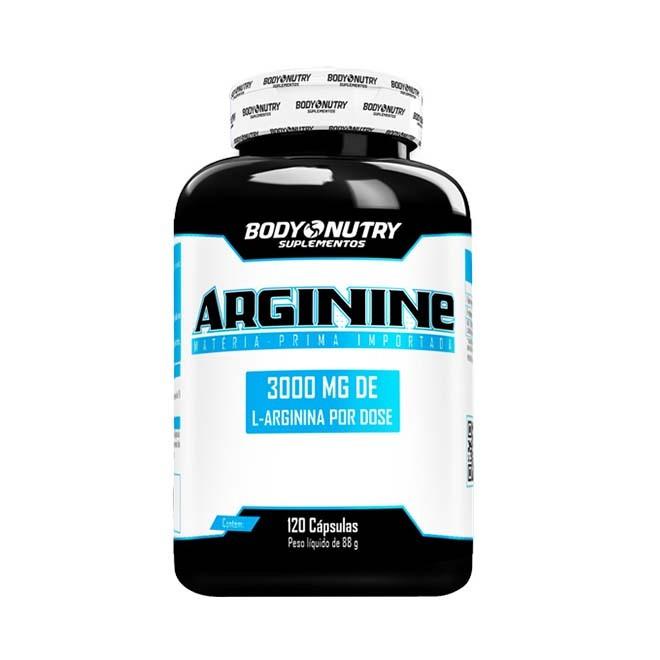 Arginina 3000mg 120 Cápsulas - Body Nutry