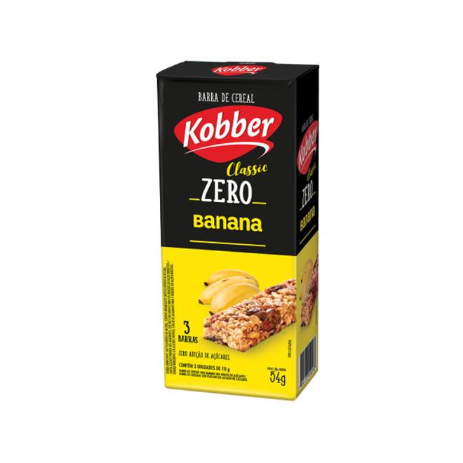 Barra de Cereal Classic ZERO (18g cada) CX c/ 12und - Kobber