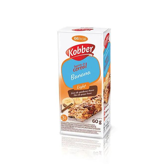 Barra de cereal Light CX c/ 12 Unidades - Kobber