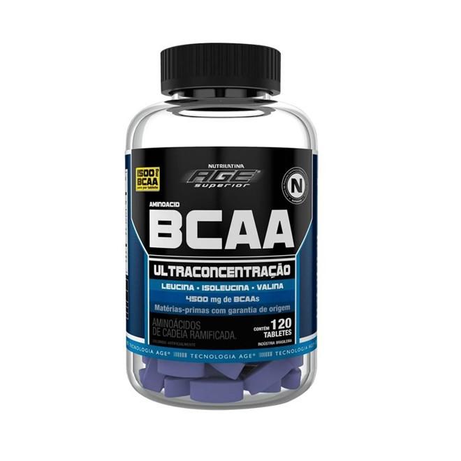 BCAA Ultraconcentração 1,5g 120 Tabletes - Nutrilatina