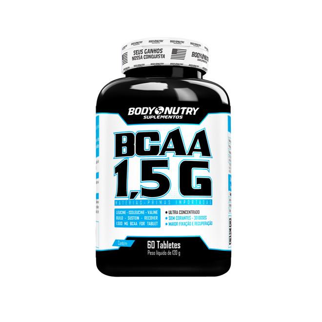 BCAA 1,5G 60 tabletes - Body Nutr