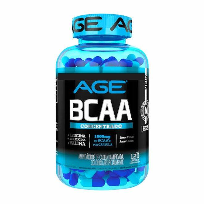 BCAA 1g 120 Cápsulas - AGE