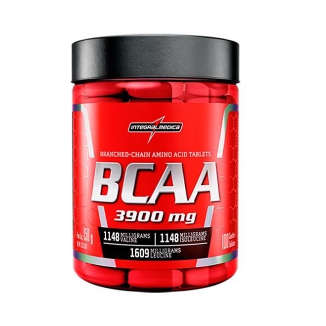 BCAA 3900 100 Tabletes - Integralmedica