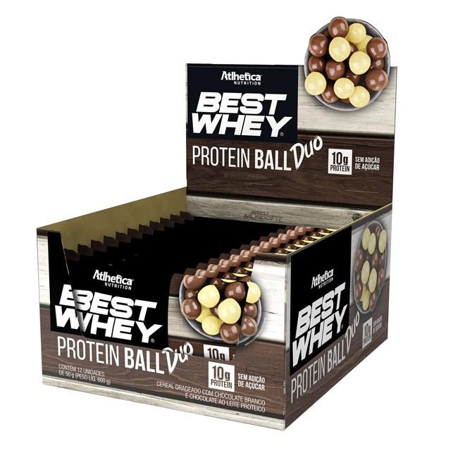 Best Whey Protein Ball Display c/ 12 Und - Atlhetica Nutrition