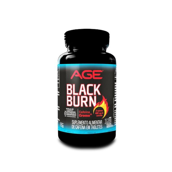 Termogenico Black Burn 120 Tabs - AGE
