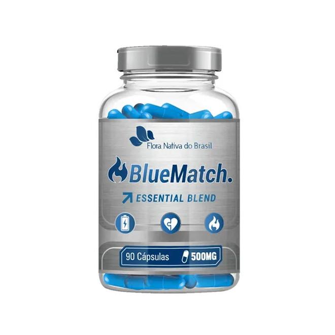 Blue Match Essential Blend 500mg (90 Cápsulas) - Flora Nativa