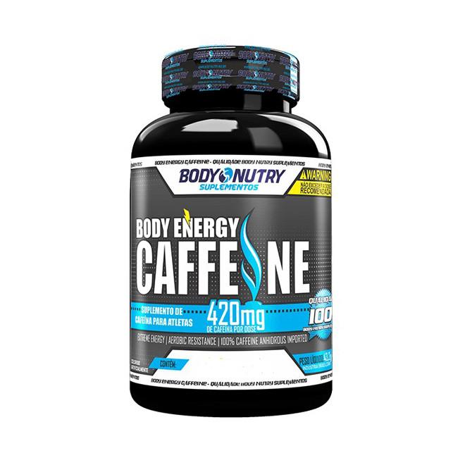 Body Energy Caffeine 120 Cápsulas - Body Nutry