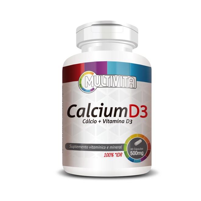 Calcium D3 (60 Cápsulas) - Flora Nativa