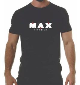 Camiseta (Tam G) - Max Titanium