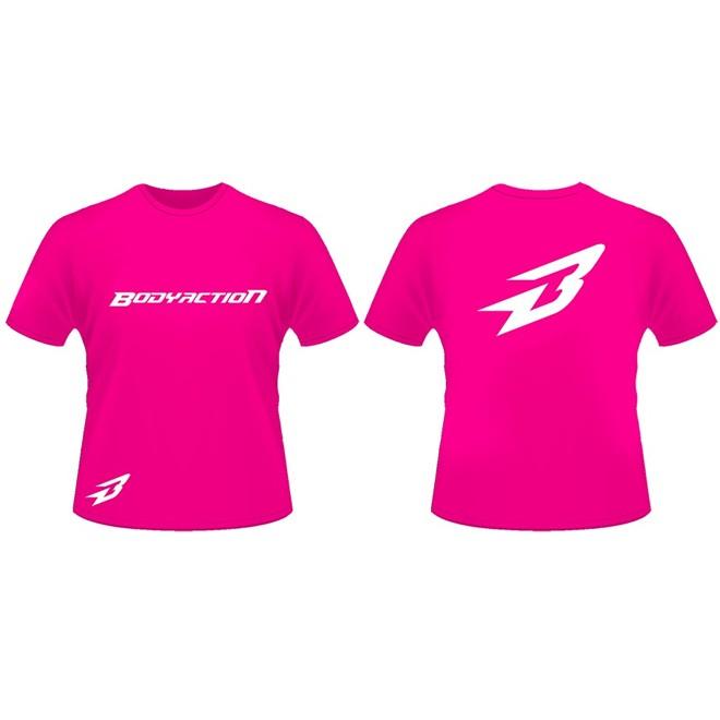 Camiseta Rosa (Tam G) - Body Action