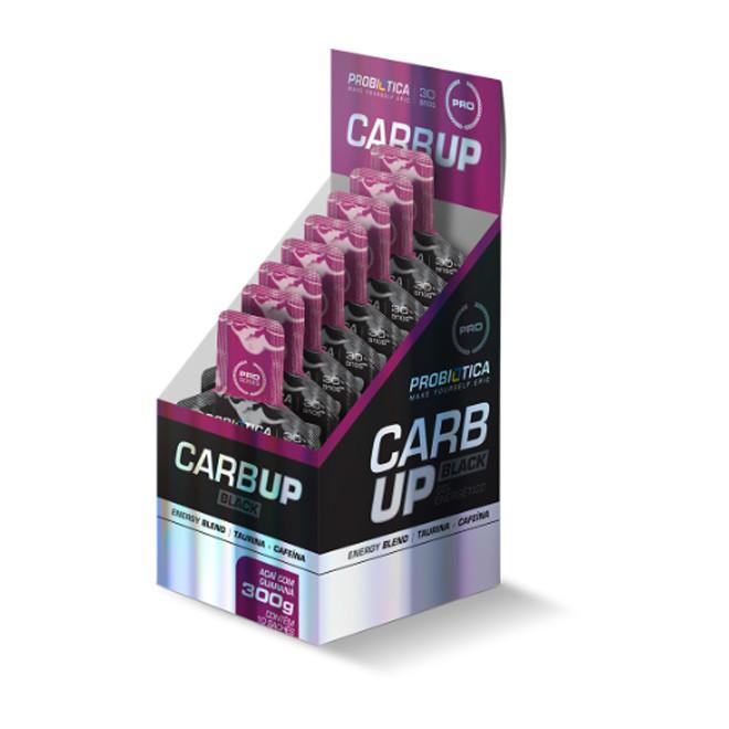Carb Up Gel Black Sachê 30g - Probiotica