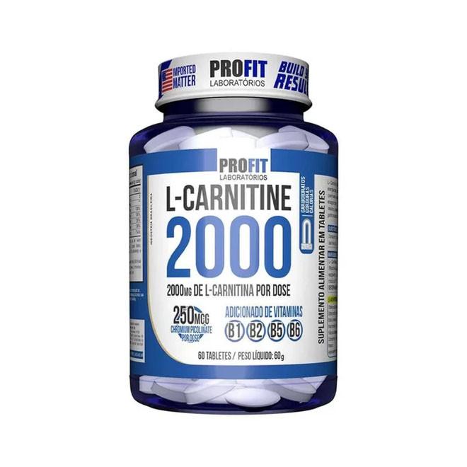 L-Carnitina 2000 + Cromo (120 Tabs) - Profit