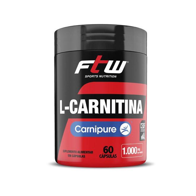 L-Carnitina Carnipure 1000mg (60 cápsulas) - FTW