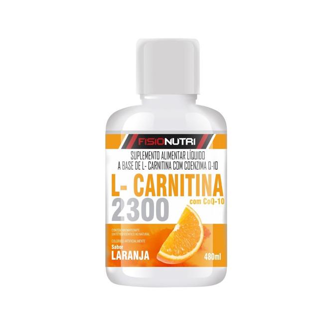 L-carnitina 2300 (480ml) - Fisionutri