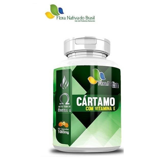 Óleo de Cártamo + Vitamina E 1000mg (120 Cápsulas) - Flora Nativa