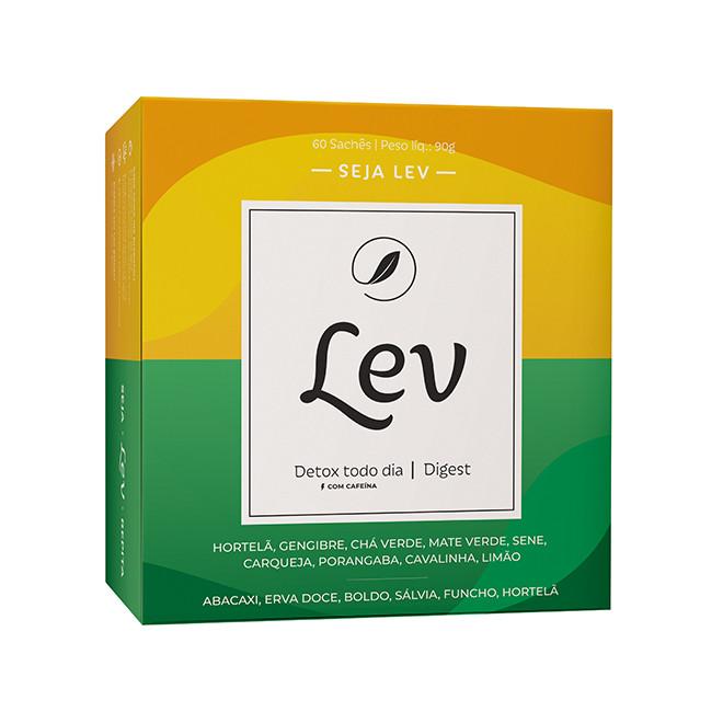 Chá Detox + Digest (60 Sachês) - Lev