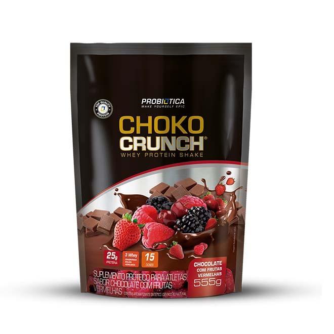 Choko Crunch Protein Shake Refil 555g - Probiótica