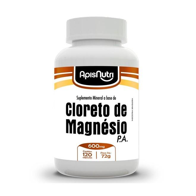 Cloreto de Magnésio P.A 120 Cápsulas (600mg) - Apsinutri