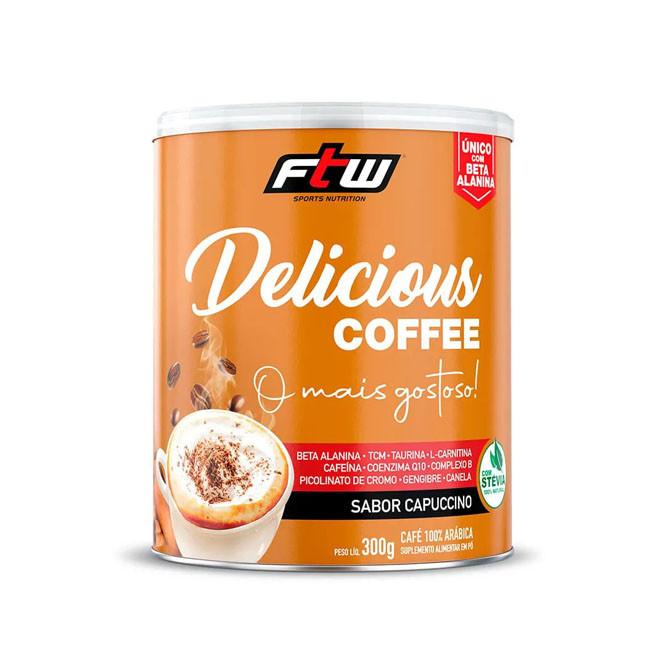 Delicious Coffee 300g Sabor Capuccino - FTW
