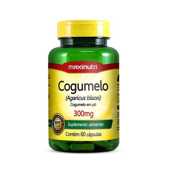 Cogulme Agaricus Blazei 60 Cápsulas - Maxinutri