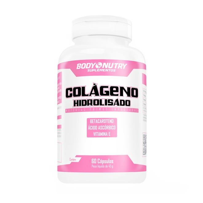 Colágeno Hidrolisado Feminy 60 Cápsulas - Body Nutry