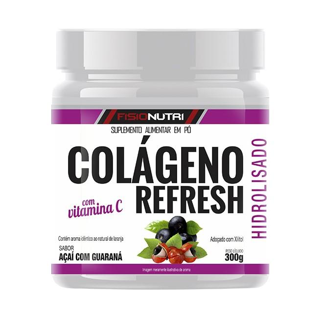 Colágeno Refresh 300g Açaí com Guaraná - Fisionutri