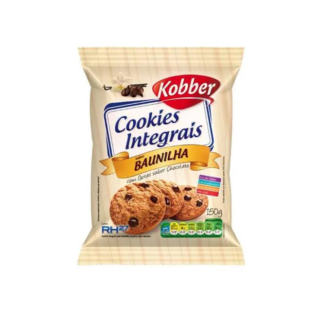Cookies Integrais Baunilha (150g) - Kobber