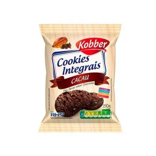 Cookies Integrais Cacau (150g) - Kobber
