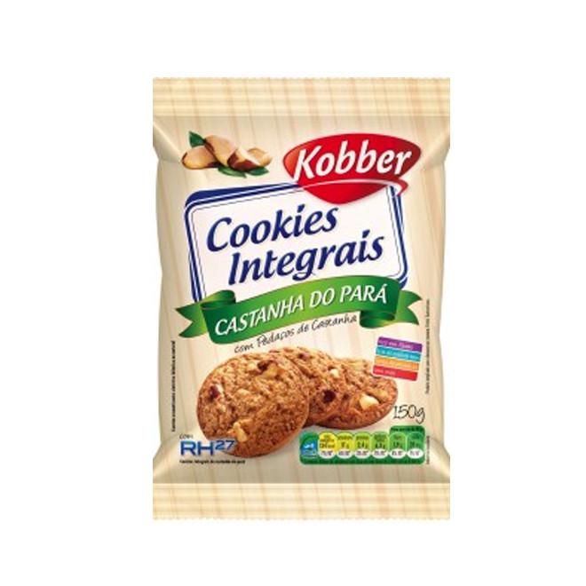 Cookies Integrais Castanha do Pará (150g) - Kobber