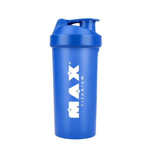Coqueteleira Azul 700ml - Max Titanium