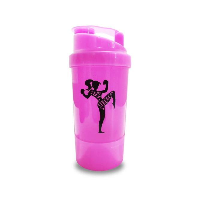 Coqueteleira 2 Doses (400ml) Pink - Nutricertta