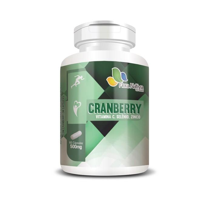 Cranberry 60 Cápsulas 500mg - Flora Nativa