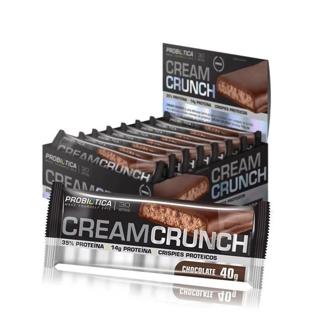 Cream Crunch (40g) Display c/ 12 Und - Probiotica