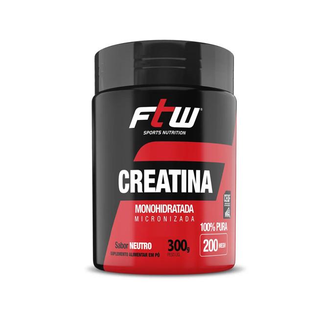 Creatina Monohidratada (300g) -FTW