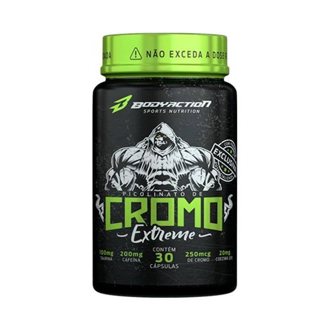Cromo Extreme 30 Cápsulas - Body Action