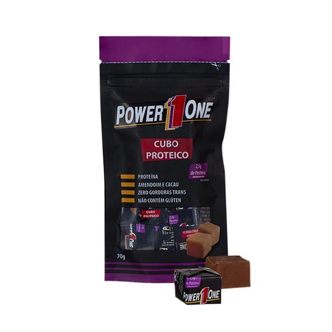 Cubo Proteico c/ 10und (7g cada) - Power 1One