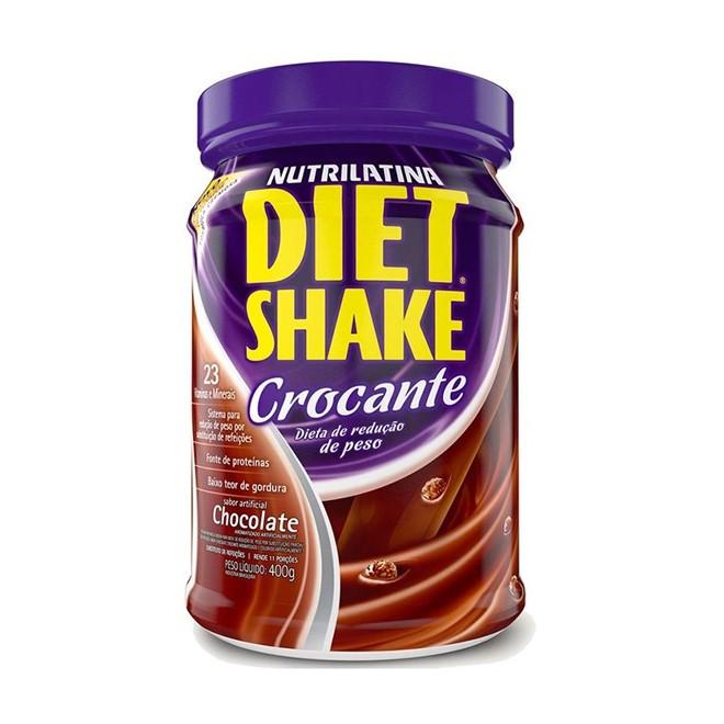 Diet Shake Crocante 400g - Nutrilatina