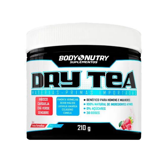 Dry Tea Frutas vermelhas (210g) - Body Nutry